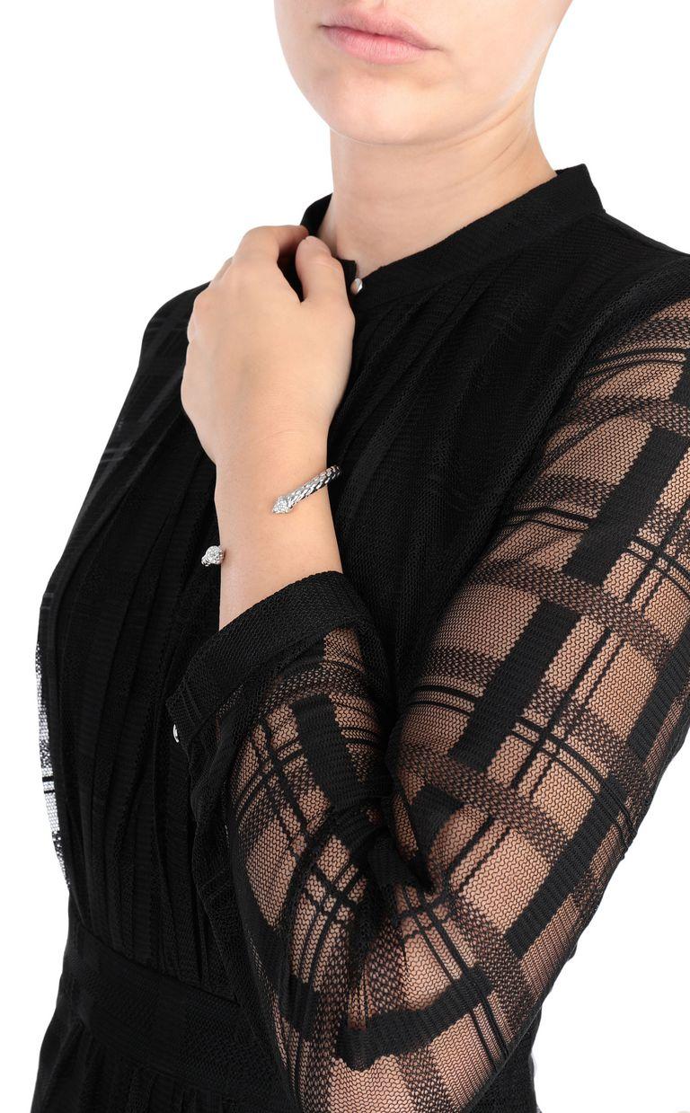 JUST CAVALLI Silver-tone bracelet Bracelet Woman r