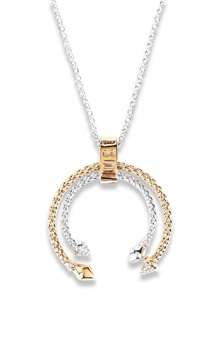 JUST CAVALLI Two-tone necklace Necklace Woman e