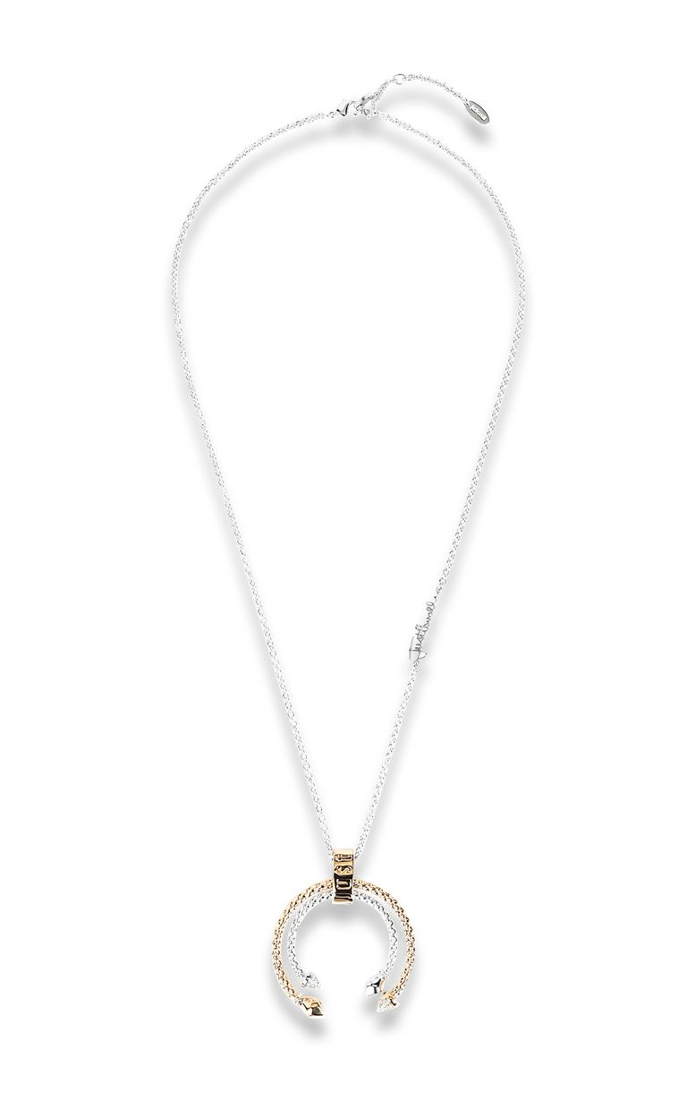 JUST CAVALLI Two-tone necklace Necklace Woman f