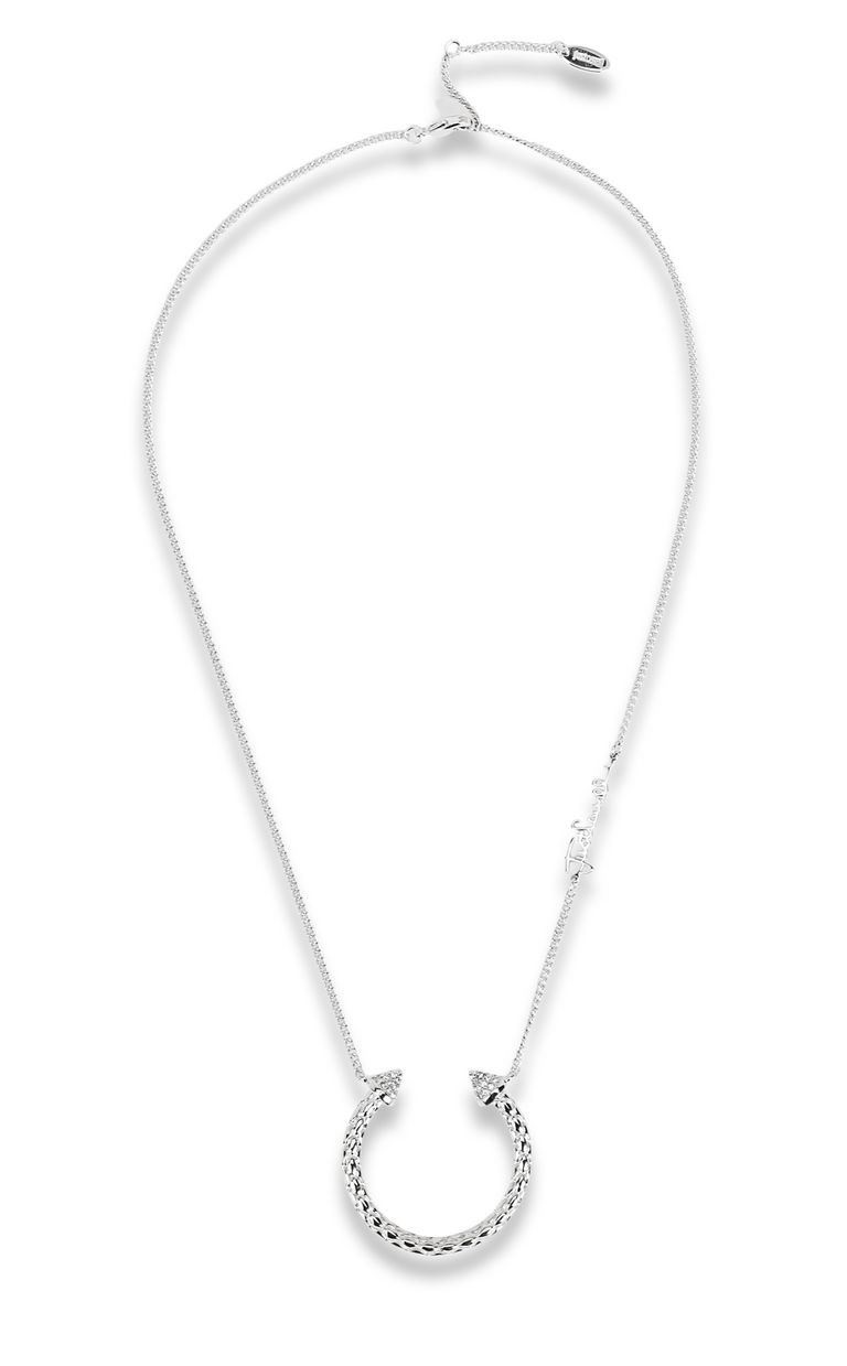 JUST CAVALLI Silver-tone necklace Necklace Woman f