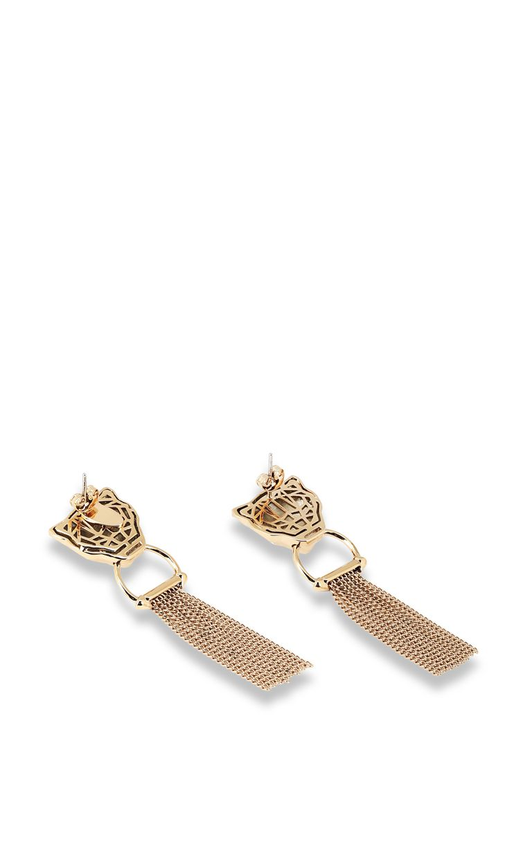 JUST CAVALLI Tiger-head earrings Earrings Woman r