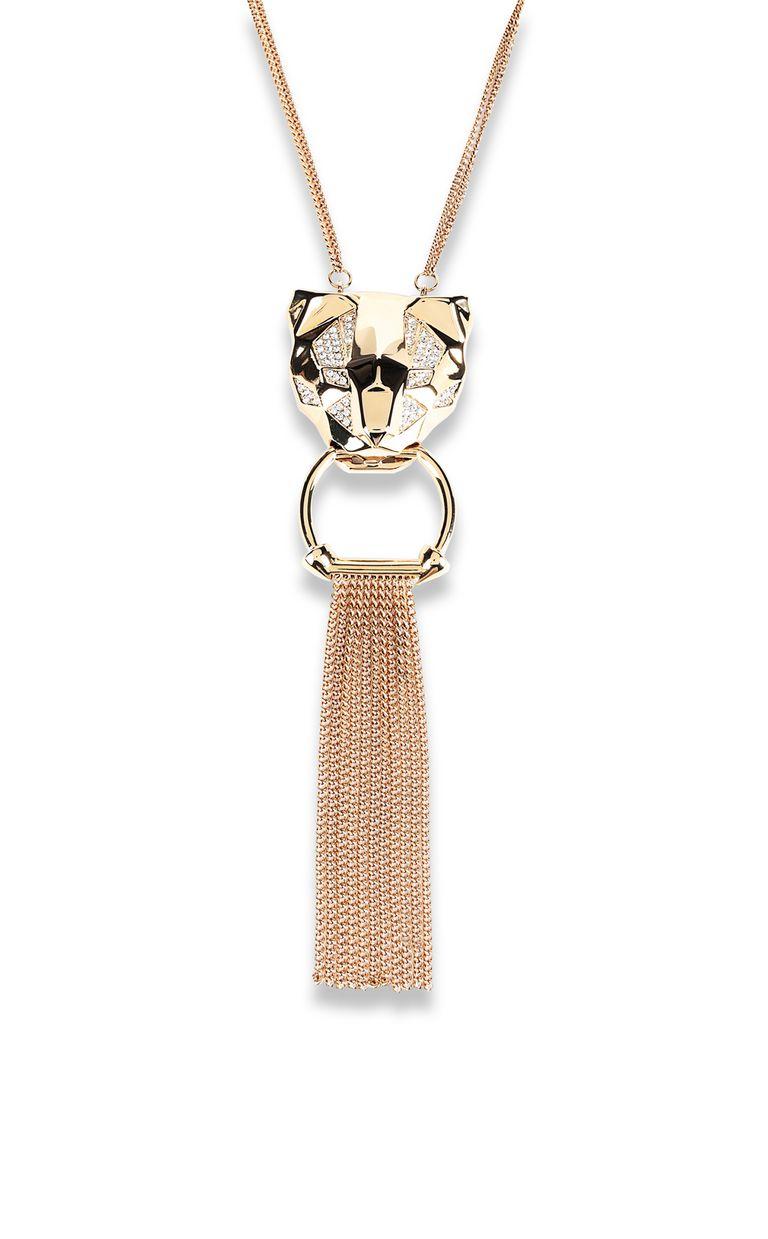 JUST CAVALLI Tiger-pendant necklace Necklace Woman e
