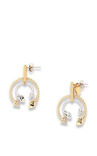 JUST CAVALLI Earrings [*** pickupInStoreShipping_info ***] Logo earrings f