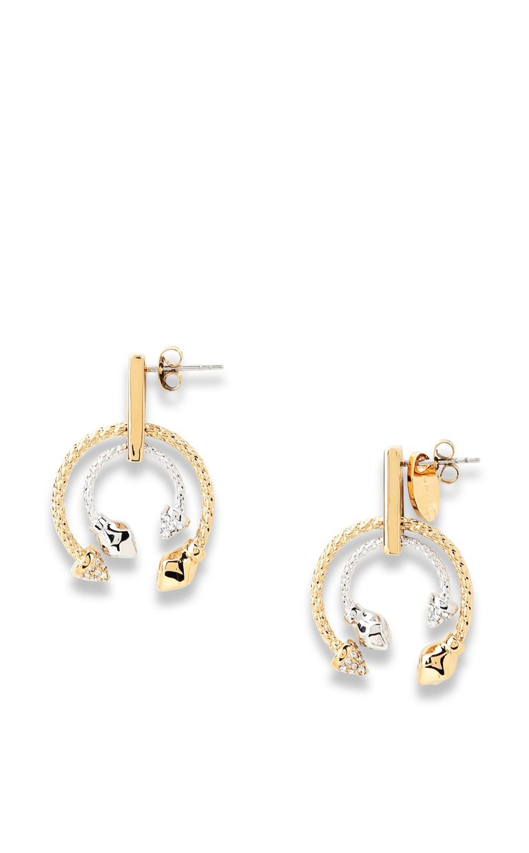 JUST CAVALLI Two-tone earrings Earrings [*** pickupInStoreShipping_info ***] f