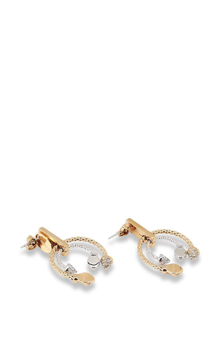 JUST CAVALLI Two-tone earrings Earrings [*** pickupInStoreShipping_info ***] r