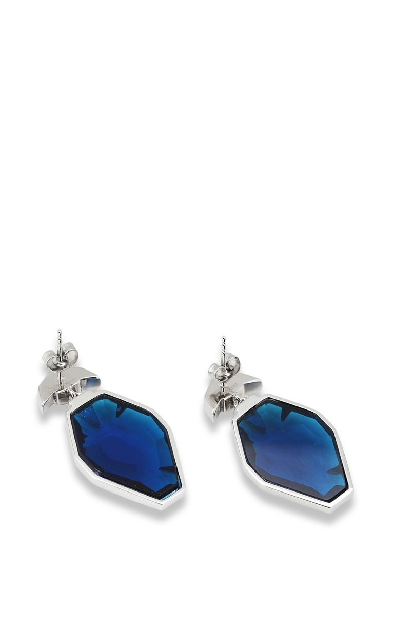 JUST CAVALLI Blue-glass earrings Earrings Woman r