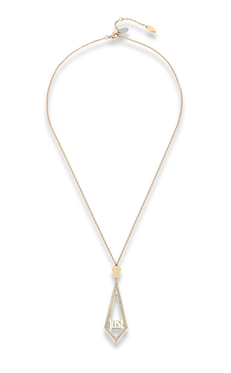 JUST CAVALLI Logo necklace Necklace Woman f