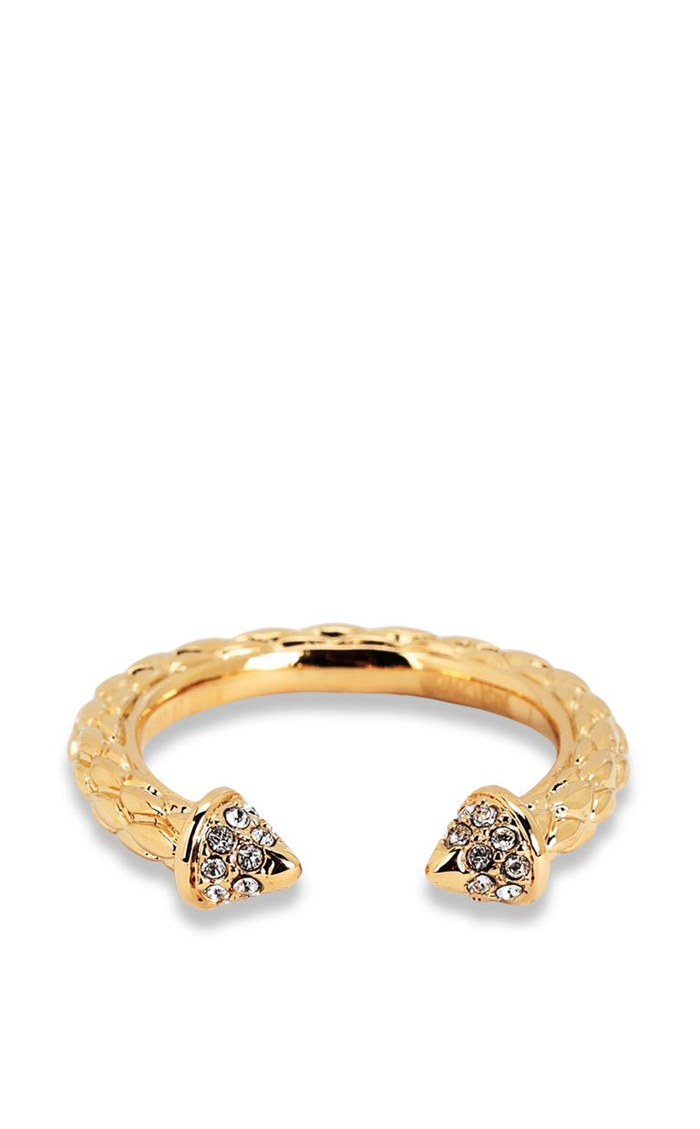 JUST CAVALLI Gold-tone ring Ring Woman e