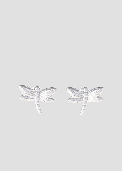 Dragonfly-shaped stud earrings