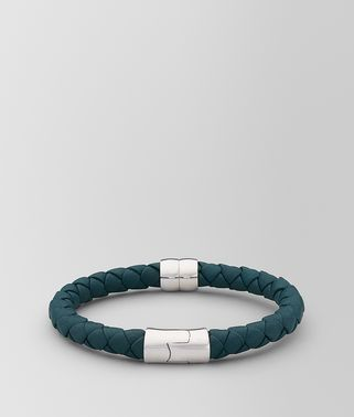 BRACELET IN LEATHER AND SILVER