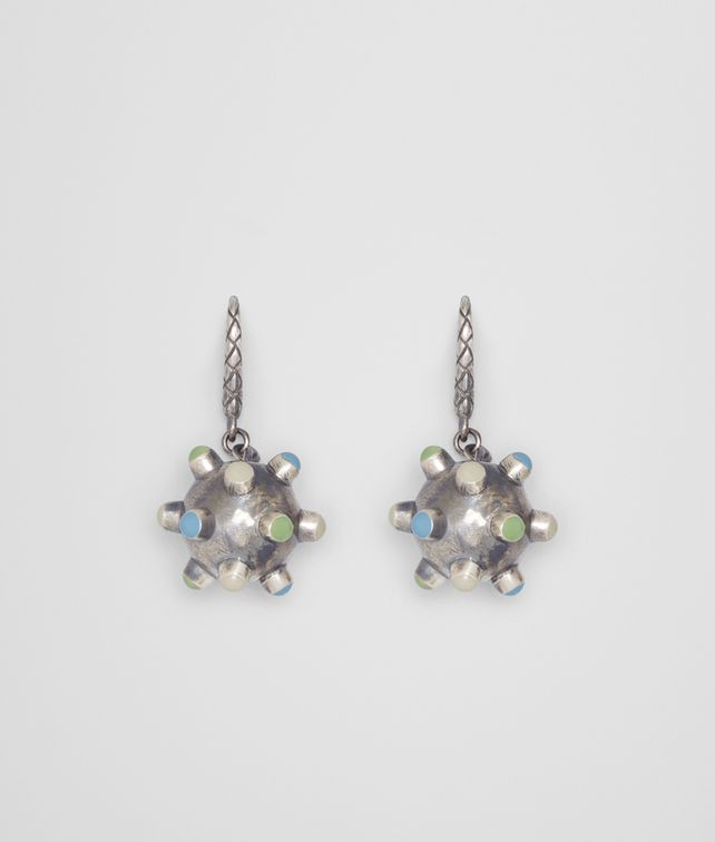 BOTTEGA VENETA EARRING IN ENAMEL AND SILVER Earrings [*** pickupInStoreShipping_info ***] fp