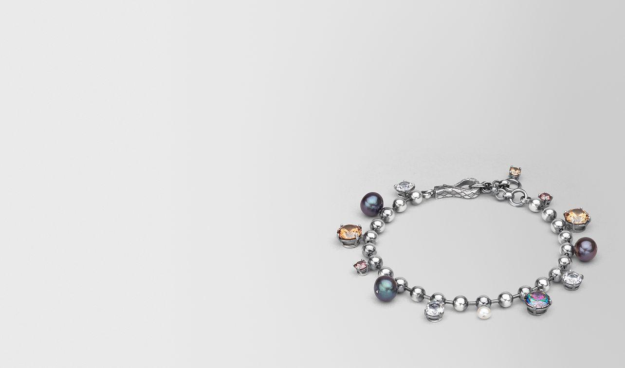 bracelet in pearl and zirconia landing