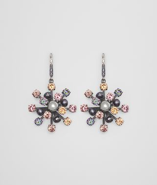 EARRING IN PEARL AND ZIRCONIA