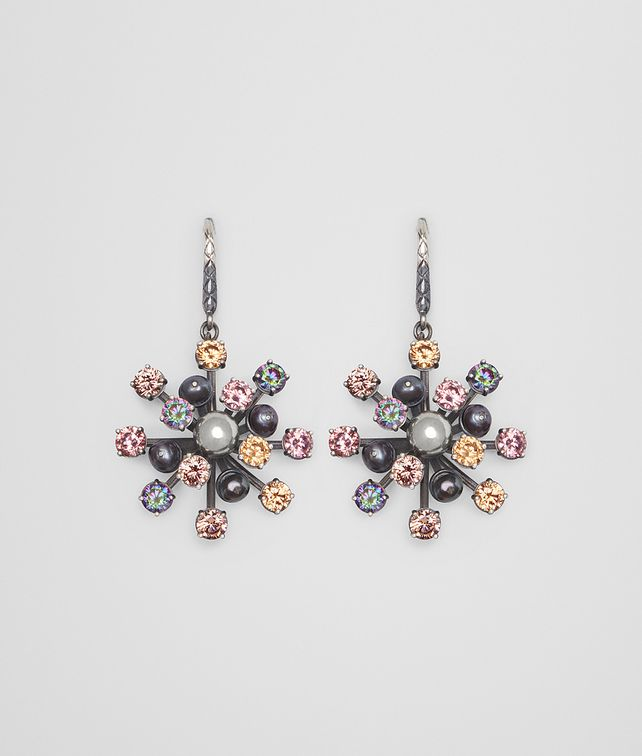BOTTEGA VENETA EARRING IN PEARL AND ZIRCONIA Earrings [*** pickupInStoreShipping_info ***] fp