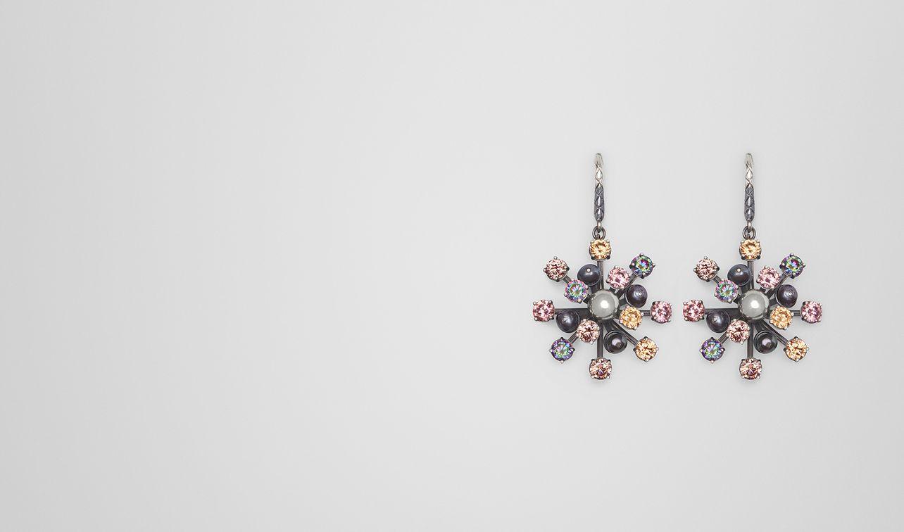 boucle d'oreille avec perles et zircons landing