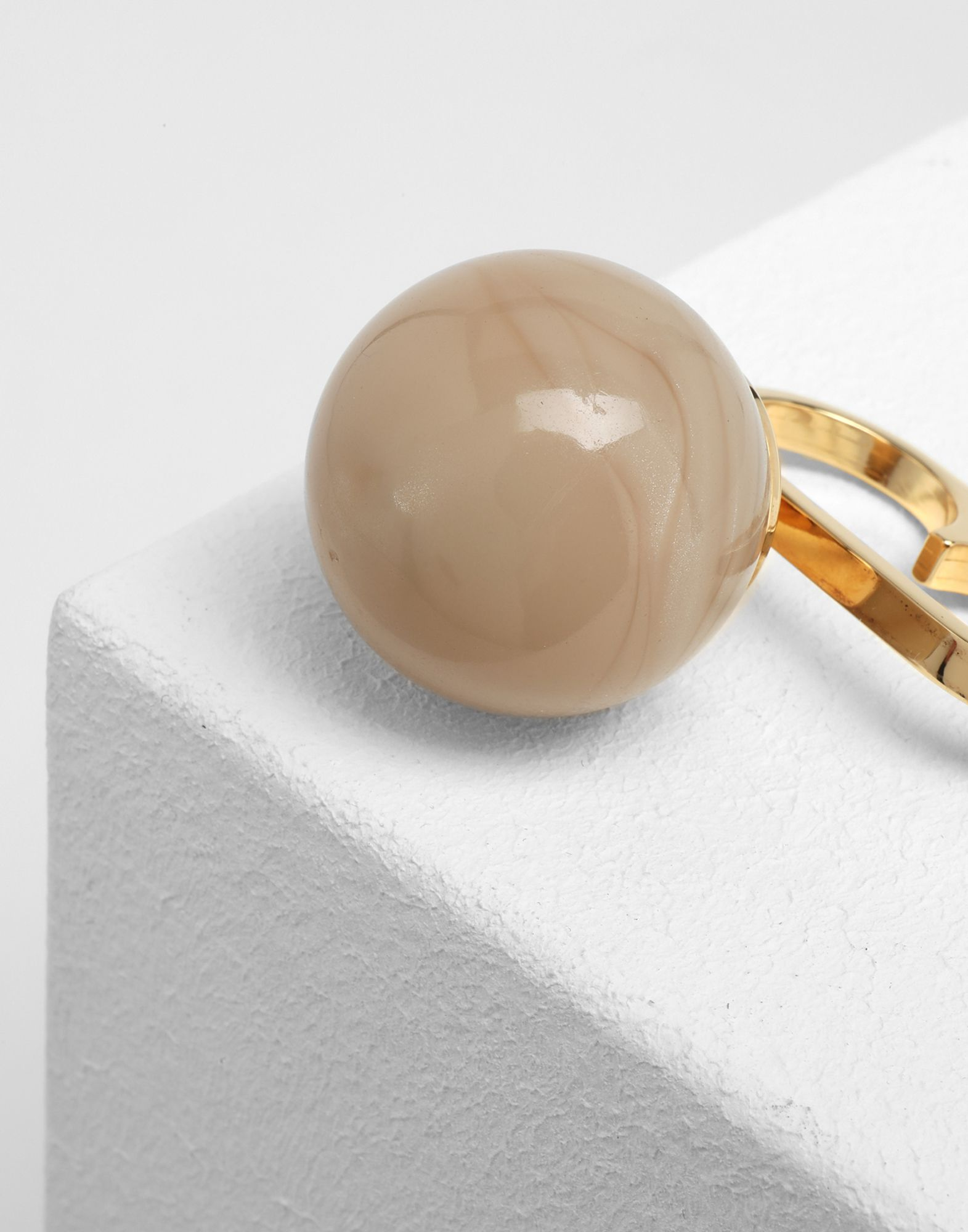MM6 MAISON MARGIELA Marble ball ring Ring Woman d