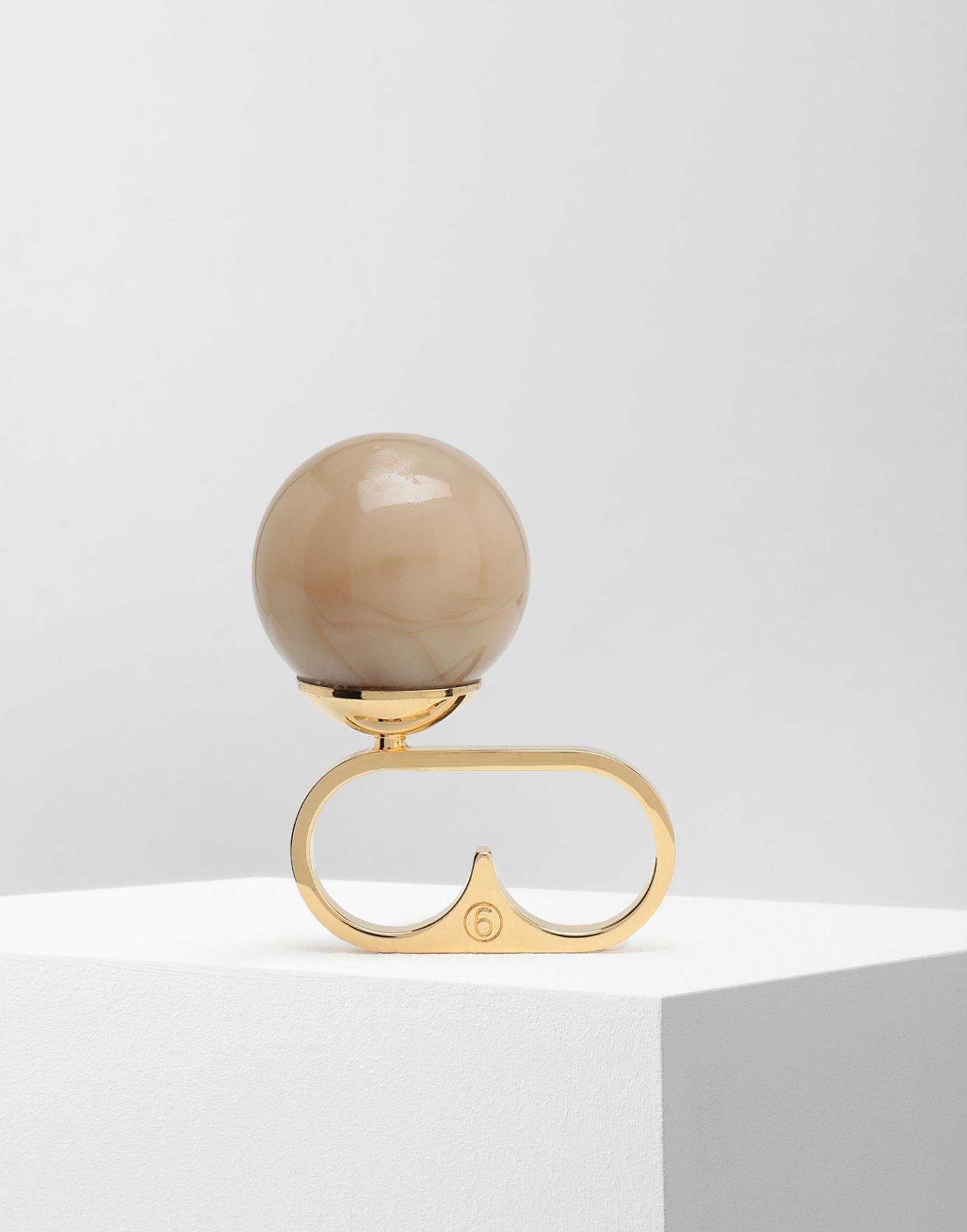MM6 MAISON MARGIELA Marble ball ring Ring Woman f