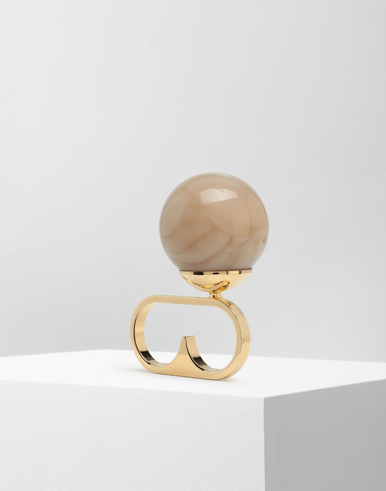 MM6 MAISON MARGIELA Marble ball ring Ring Woman r