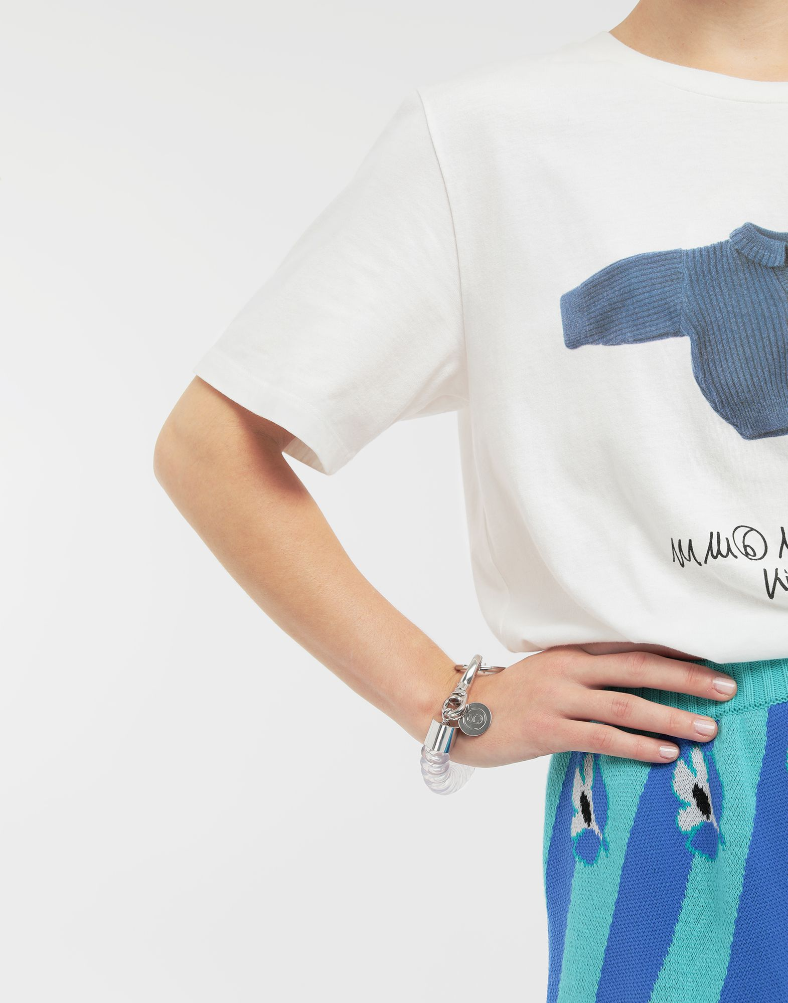MM6 MAISON MARGIELA Spiral cord bracelet Bracelet Woman e