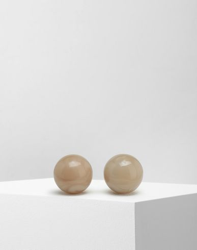 MM6 MAISON MARGIELA Earrings [*** pickupInStoreShipping_info ***] Marble ball earrings f
