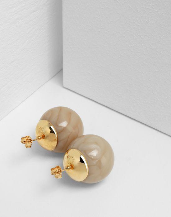 MM6 MAISON MARGIELA Marble ball earrings Earrings [*** pickupInStoreShipping_info ***] d