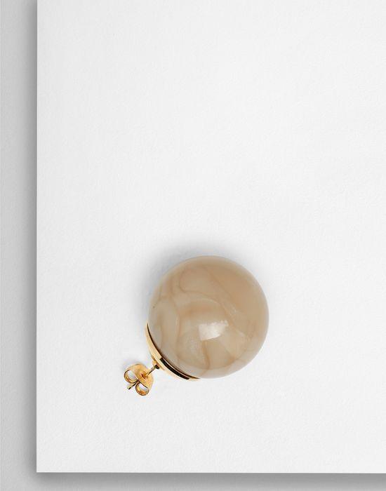 MM6 MAISON MARGIELA Marble ball earrings Earrings [*** pickupInStoreShipping_info ***] r