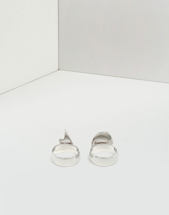 MM6 MAISON MARGIELA Friendship Heart rings Ring [*** pickupInStoreShipping_info ***] r