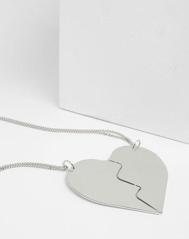 MM6 MAISON MARGIELA Necklace Woman Friendship Heart necklaces r