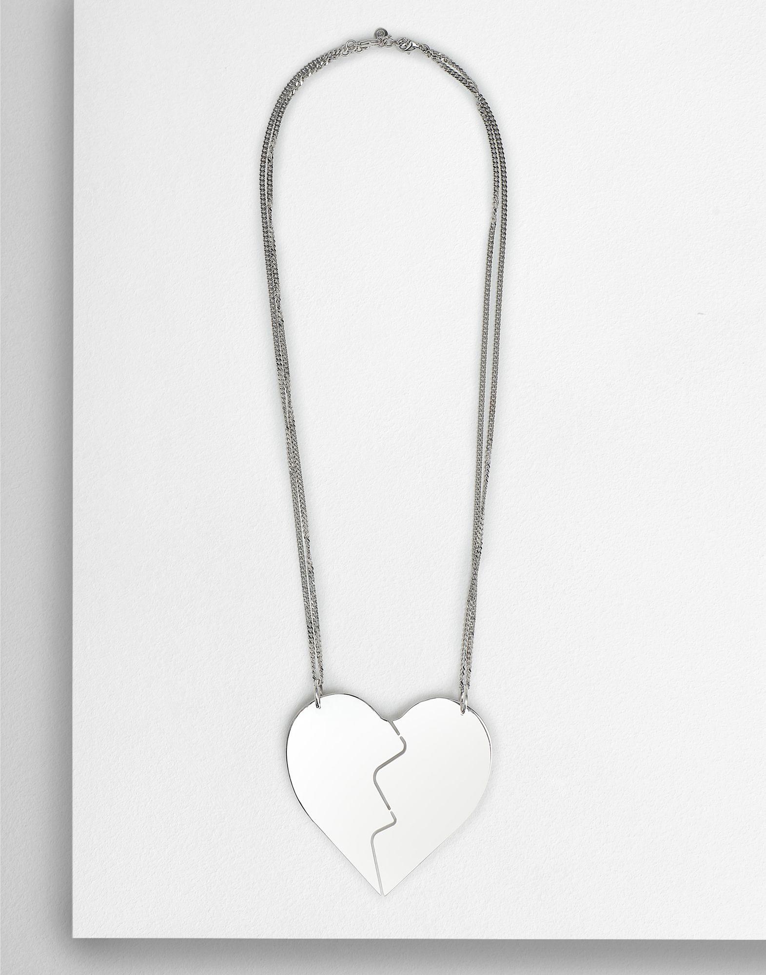 MM6 MAISON MARGIELA Friendship Heart necklaces Necklace Woman f