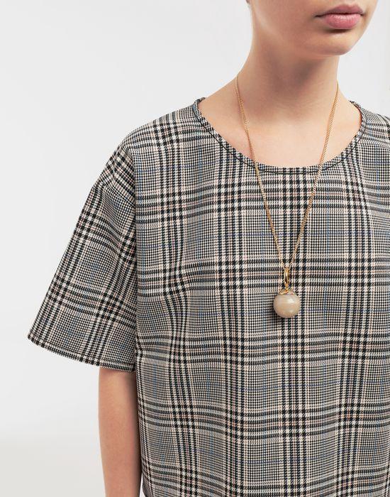 MM6 MAISON MARGIELA Marble ball necklace Necklace [*** pickupInStoreShipping_info ***] b