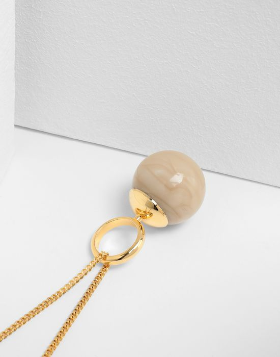 MM6 MAISON MARGIELA Marble ball necklace Necklace [*** pickupInStoreShipping_info ***] r