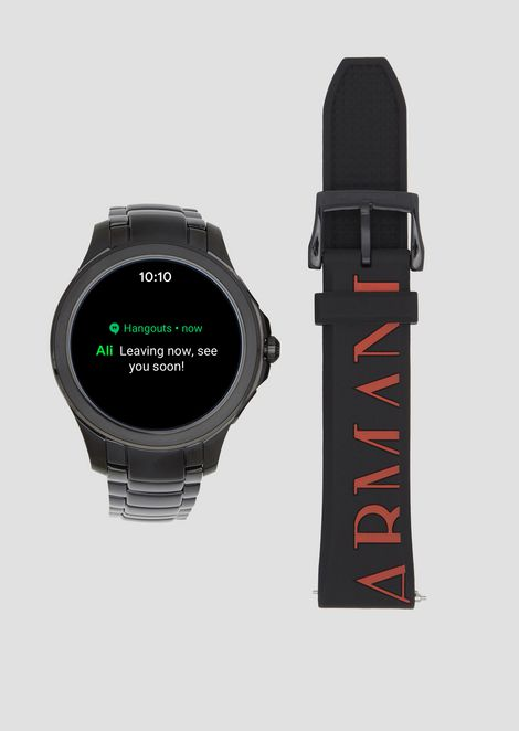 Stainless steel touchscreen smartwatch aaa22251e51