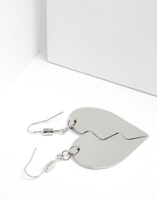 MM6 MAISON MARGIELA Friendship Heart earrings Earrings [*** pickupInStoreShipping_info ***] d
