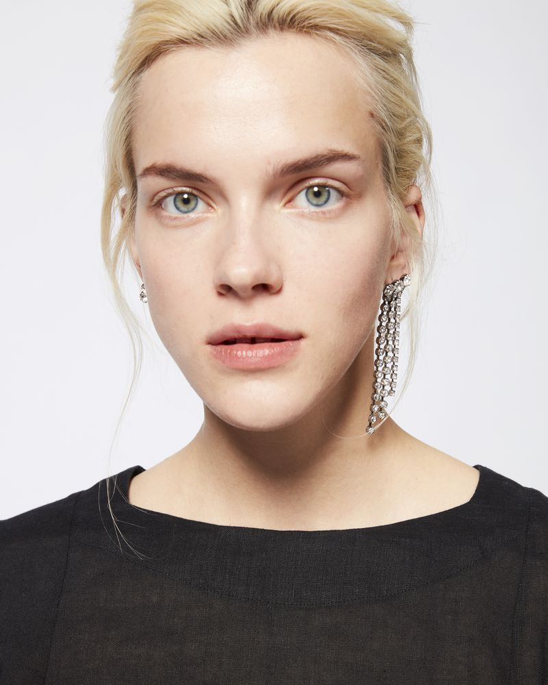 A WILD SHORE mismatched earrings ISABEL MARANT