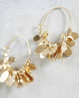 ISABEL MARANT EARRINGS Woman LEAVES earrings d
