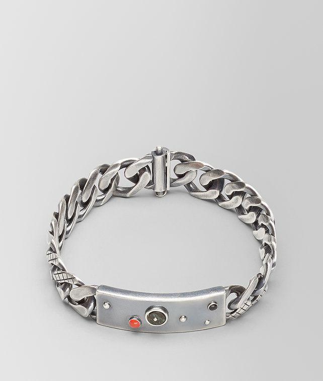 BOTTEGA VENETA BRACELET IN INTRECCIATO SILVER  Bracelet [*** pickupInStoreShippingNotGuaranteed_info ***] fp