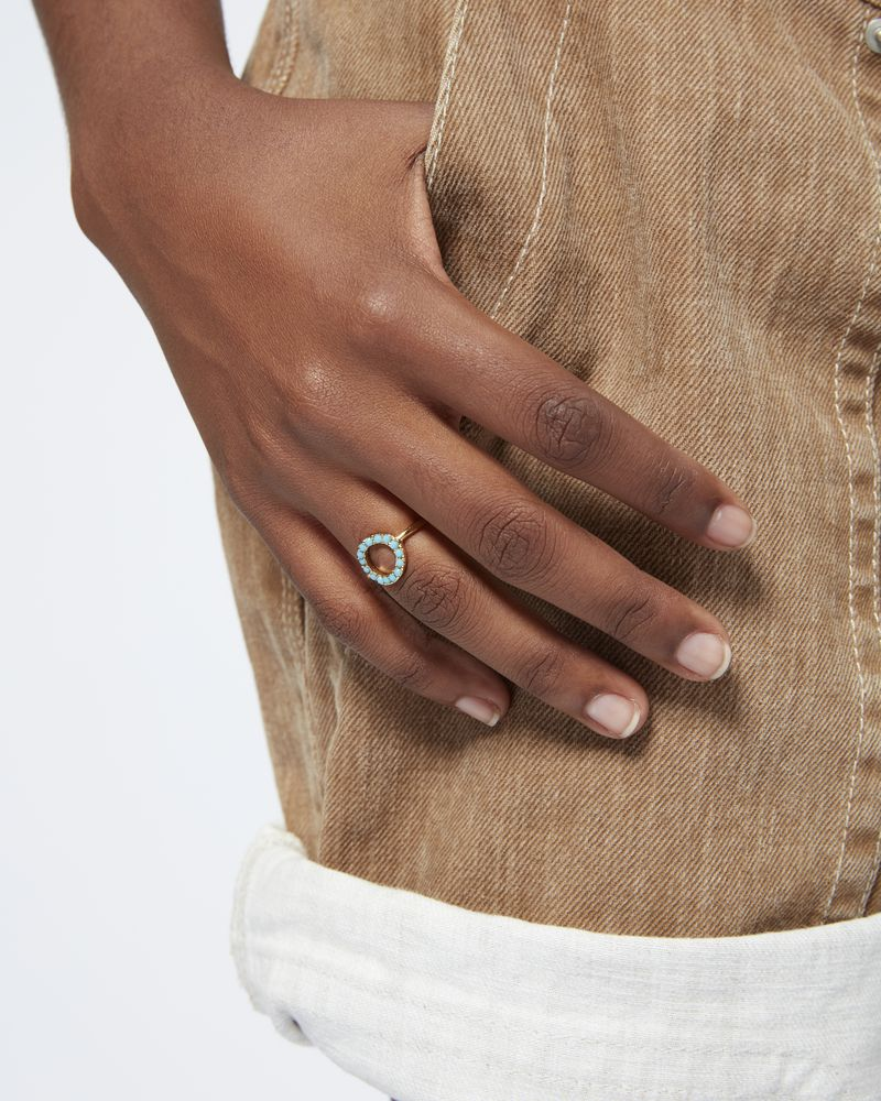 SUPRALUMINIQUE ring ISABEL MARANT