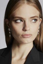 DSQUARED2 Punk Crystal Earrings Earrings Woman