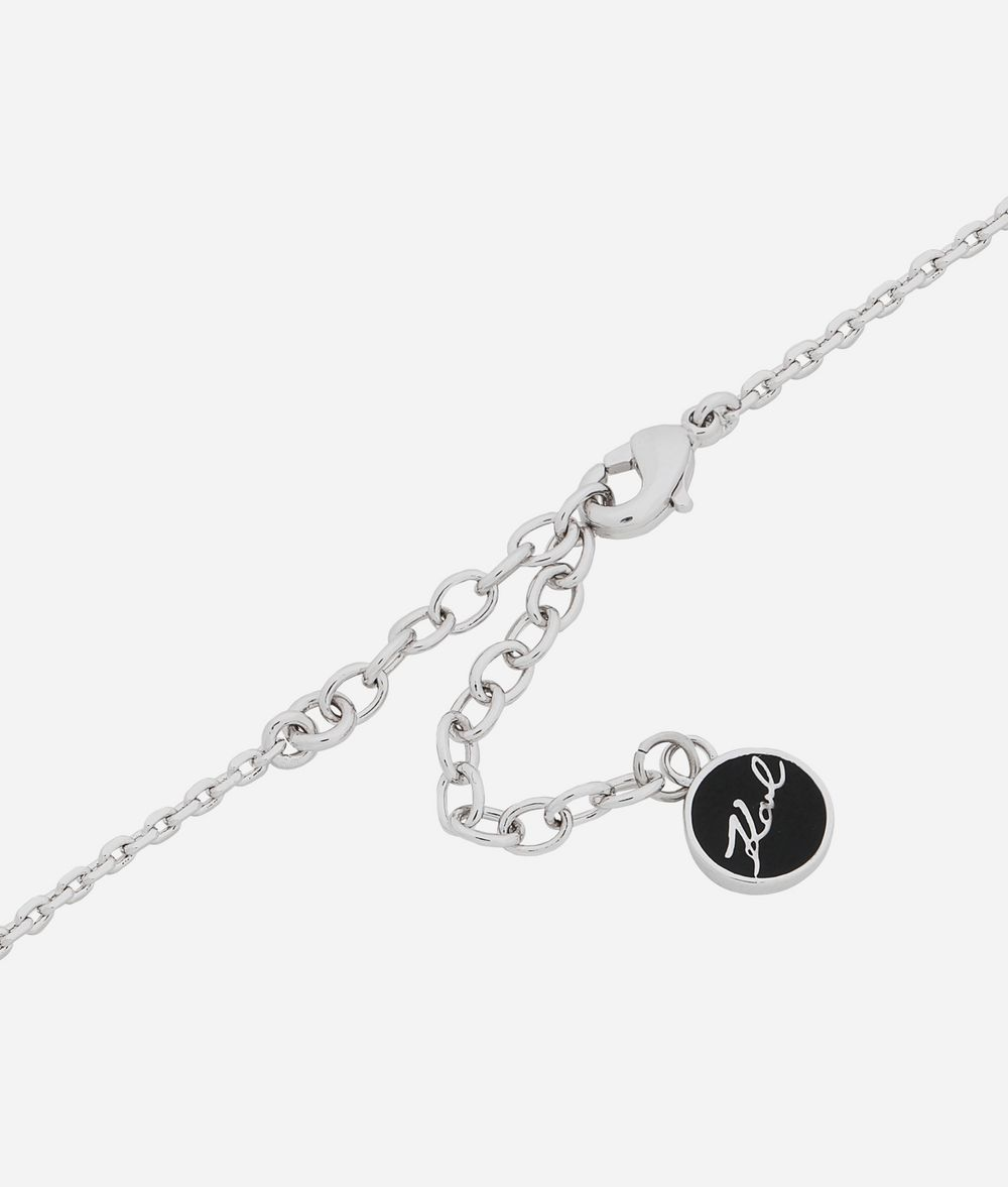 KARL LAGERFELD K/Argentina Pendant Necklace Necklace Woman d
