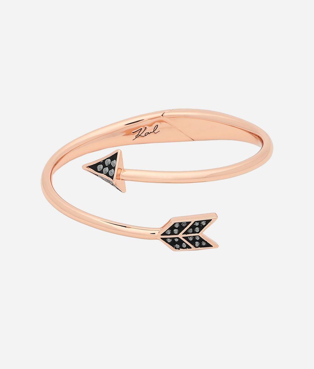 KARL LAGERFELD Manchette K/Hearts and Arrows Bracelet Femme f