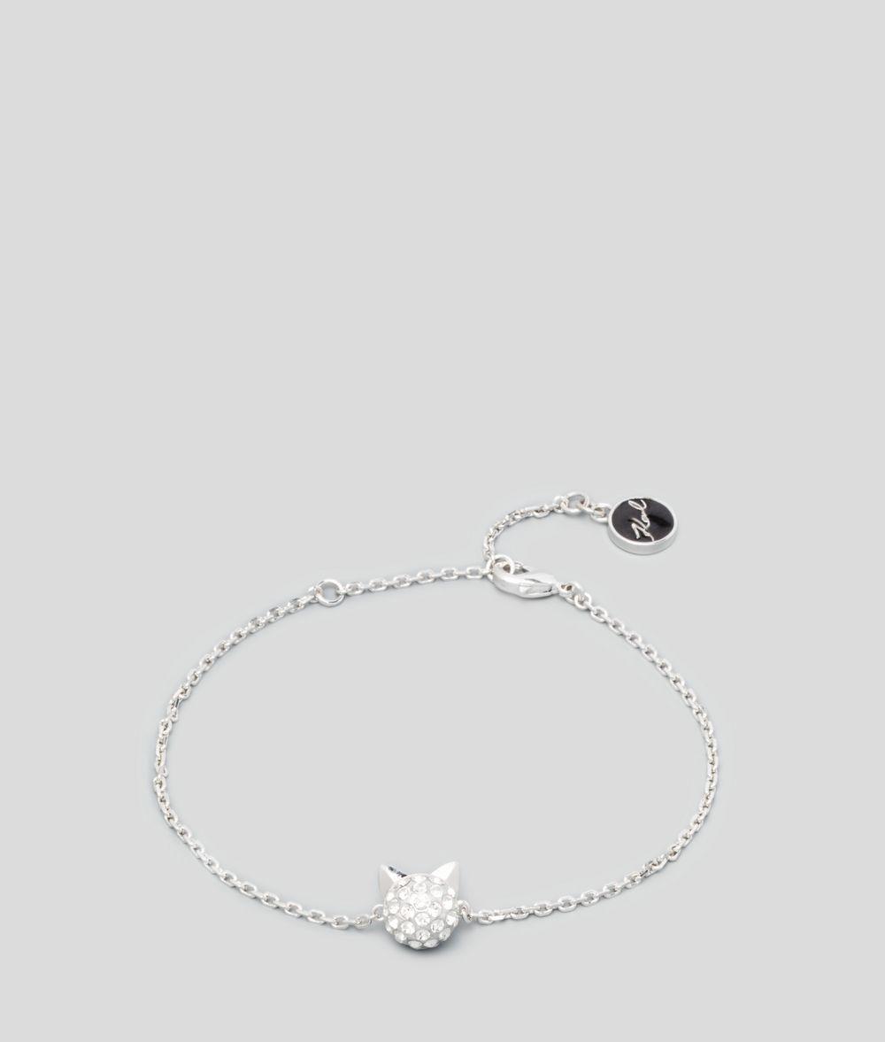 KARL LAGERFELD Bracelet en cristal Choupette Bracelet Femme d