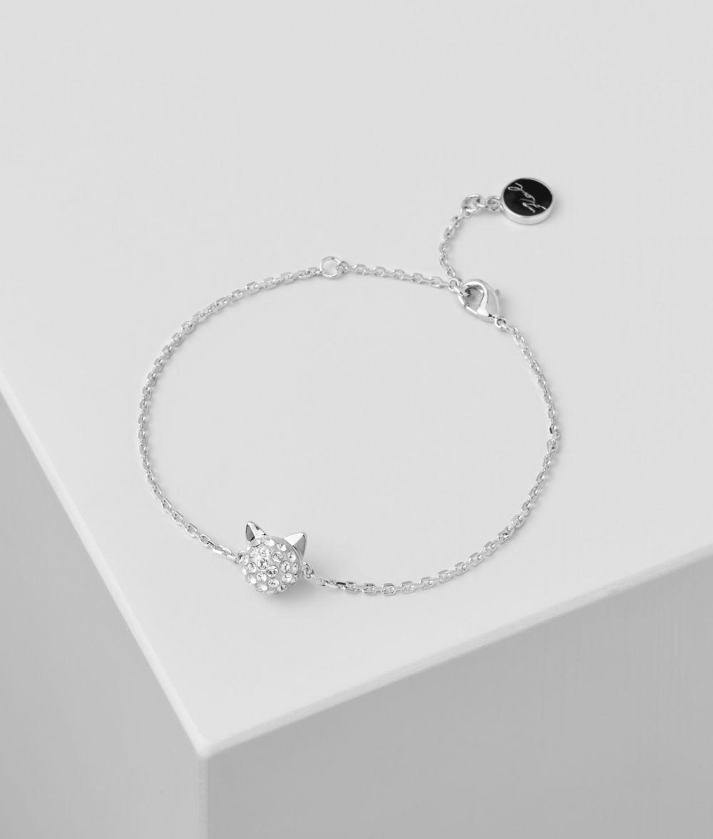 KARL LAGERFELD Bracelet en cristal Choupette Bracelet Femme f