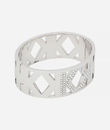 KARL LAGERFELD DOUBLE K THICK CUFF