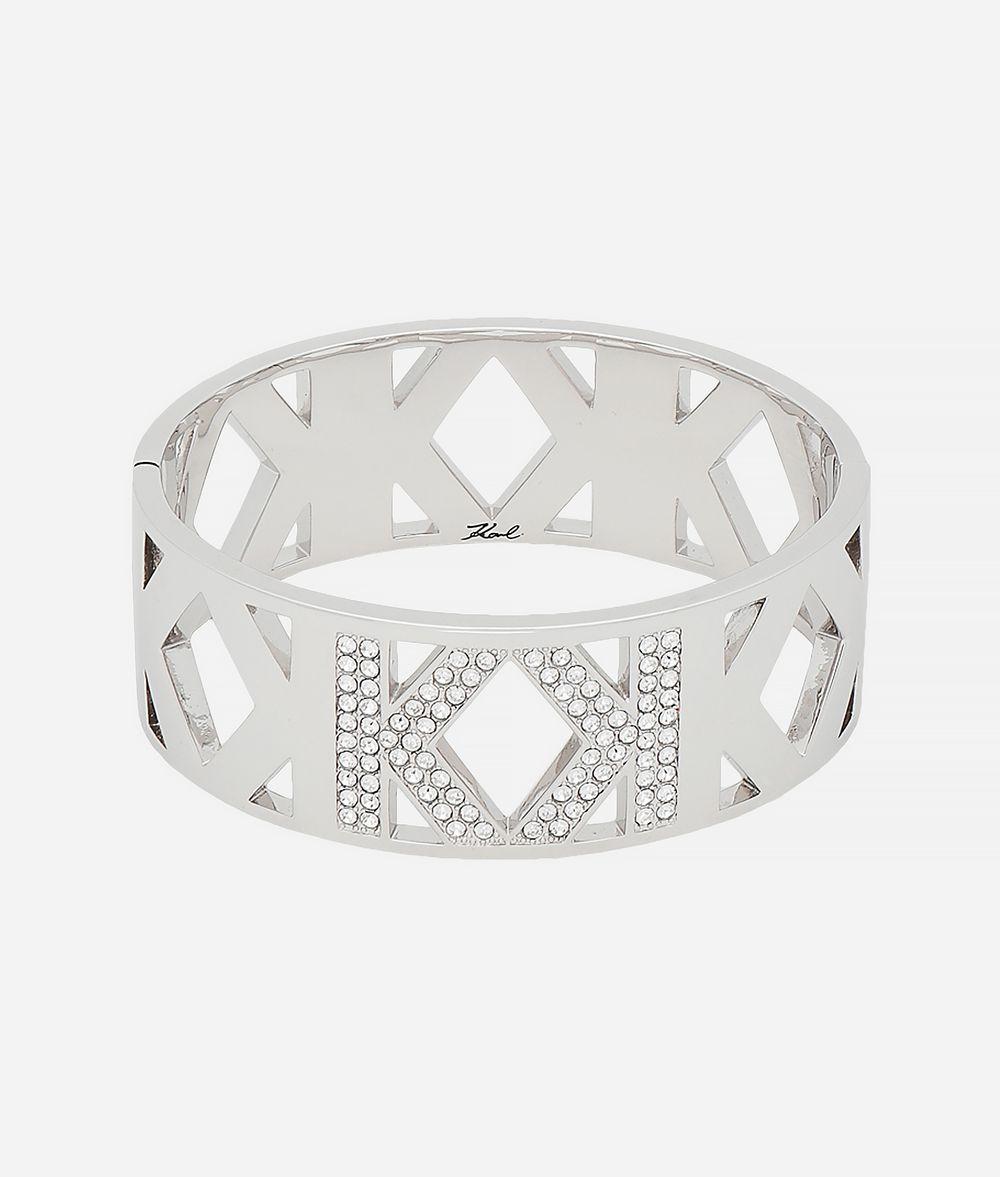KARL LAGERFELD Manchette Double K Bracelet Femme f