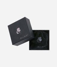 KARL LAGERFELD Karl Signature Hoop Earrings 9_f