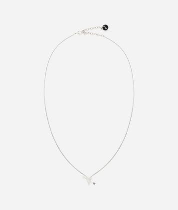 KARL LAGERFELD K/HEARTS AND ARROWS NECKLACE