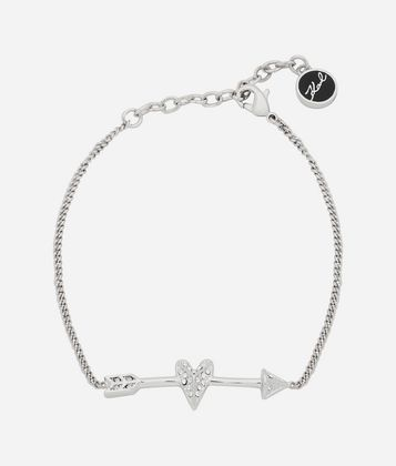 KARL LAGERFELD K/HEARTS AND ARROWS BRACELET
