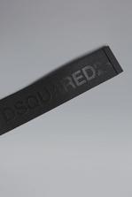DSQUARED2 Red & Black Punk Tape Bracelet Bracelet Man