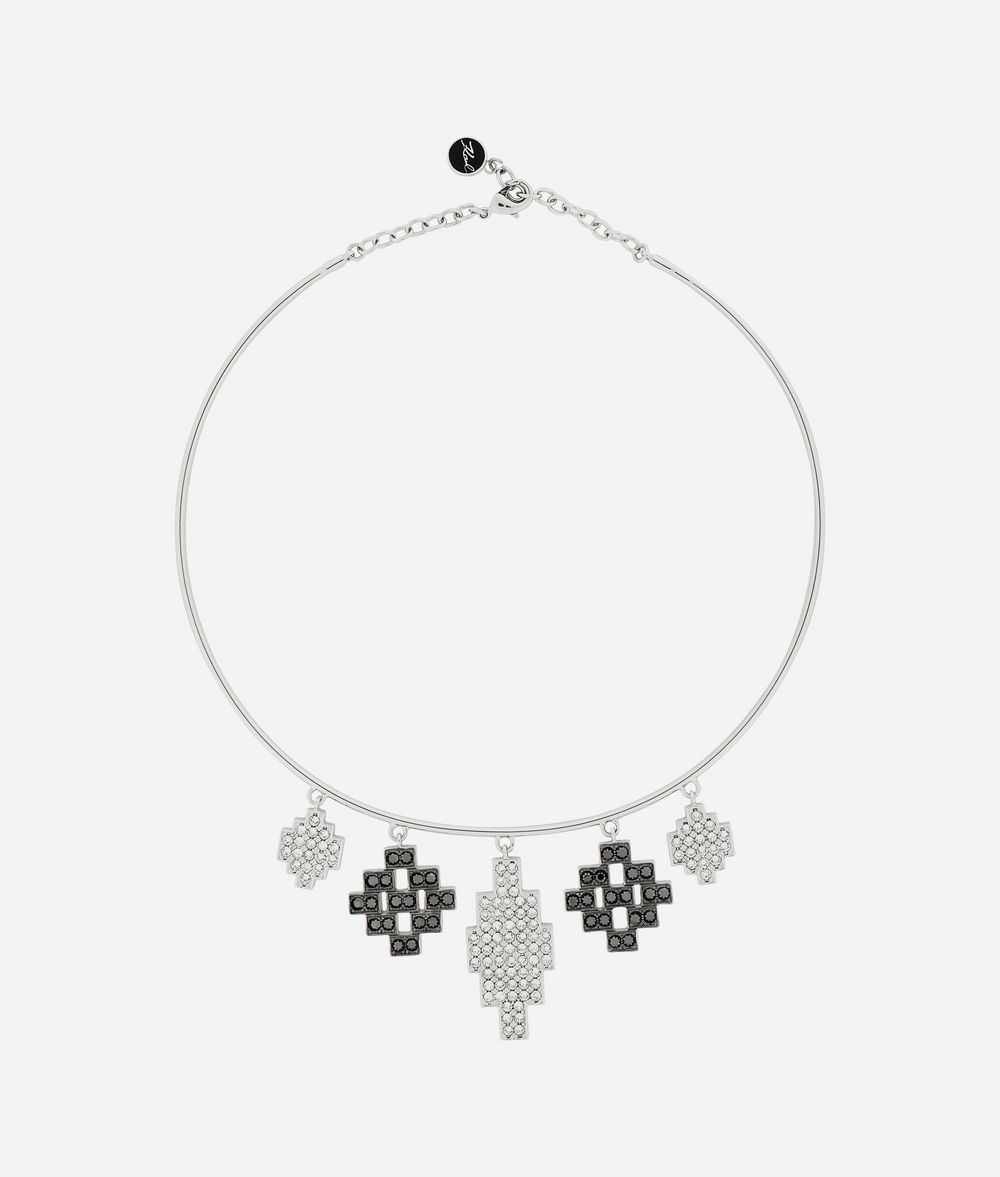 KARL LAGERFELD K/Argentina Pendant Necklace Necklace Woman f