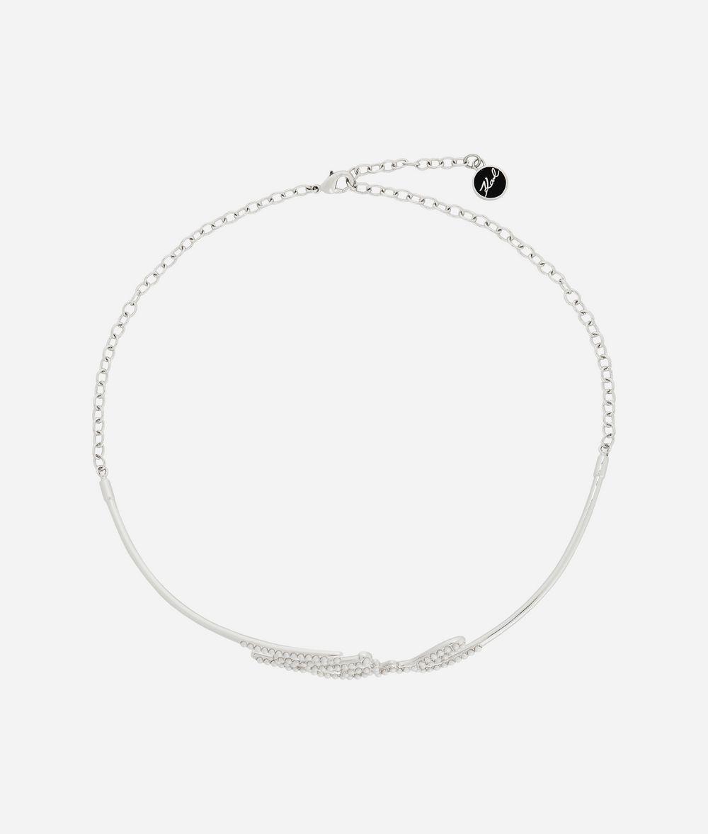 KARL LAGERFELD Karl Signature Choker Necklace Woman f